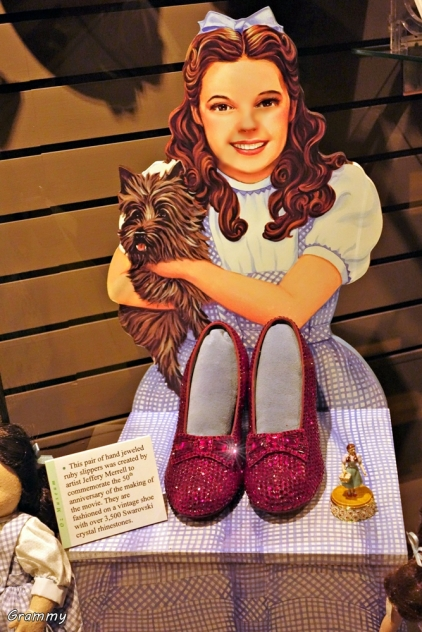 Dorothy's Ruby-Red Slippers
